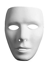 Masque neutre de visage d'homme