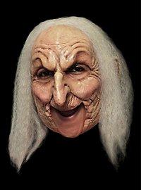 Masque sans manton de vieille sorcière Deluxe