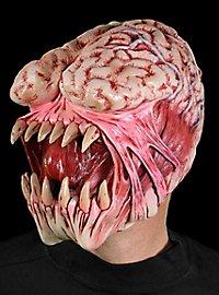 Masque terrifiant de mangeur de cerveaux