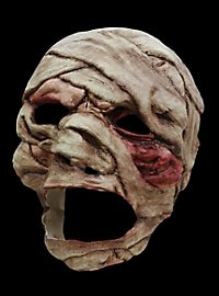 Masque terrifiant de momie maudite