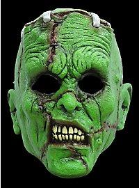Masque terrifiant de monstre vert