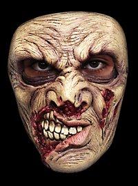 Masque terrifiant de zombie à la bouche putréfiée