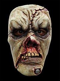 Masque terrifiant de zombie blessé