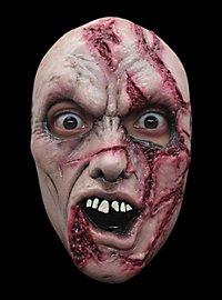 Masque terrifiant de zombie tailladé
