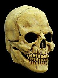 Masque terrifiant tête de mort en latex