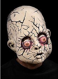 Masque tête de poupée terrifiante