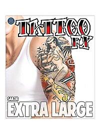 Matrosen Klebe-Tattoo XL