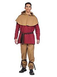 Medieval costume farmer