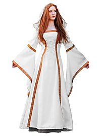 Medieval Court Dress white
