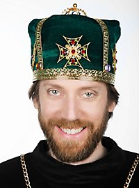Medieval Crown Cap evergreen