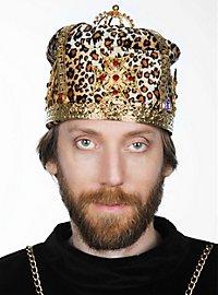 Medieval Crown Cap leopard