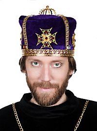 Medieval Crown Cap purple
