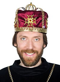 Medieval Crown Cap red