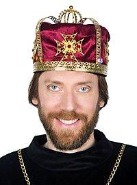 Medieval Crown Cap red