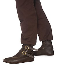 Medieval half boot with 2 buckles - Beutelbert