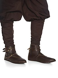 Medieval half boot with 3 buckles - Thielemann
