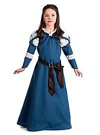 Medieval maid kid's costume
