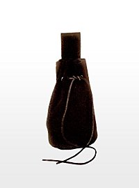 Medieval Pouch Suede black