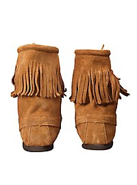 Medieval Shoes with Fringe