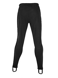 Medieval tights man black