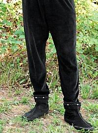 Medieval Velvet Pants black