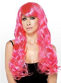 Meerjungfrau Perücke pink
