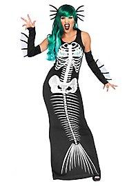 Meerjungfrau Skelettkostüm