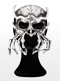 Memento mori Leather Half Mask