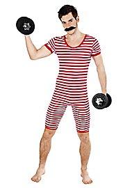 Men swimsuit 20s red