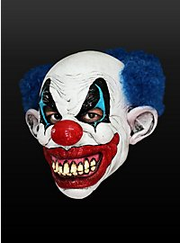 Menschenfresser-Clown Maske aus Latex