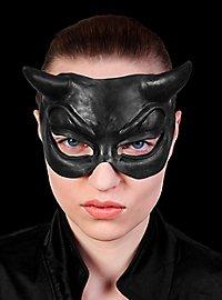 Mephisto Halbmaske schwarz