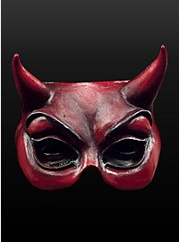 Mephisto Maske aus Latex