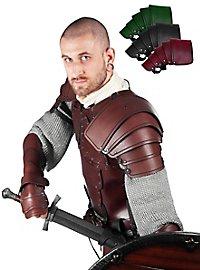 Leather Pauldrons - Mercenary