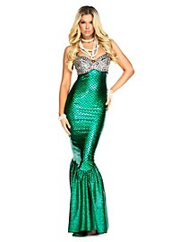 Mermaid Cocktail Dress Costume