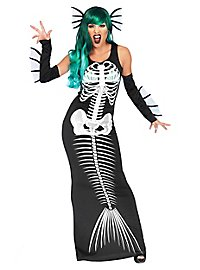 Mermaid skeleton costume