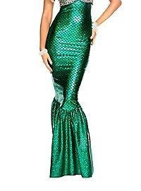 mermaid skirt green