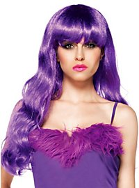 Mermaid violet Wig