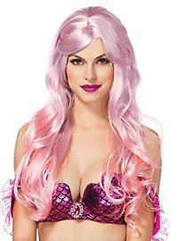 Mermaid wig pink