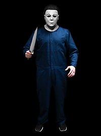 Michael Myers Deluxe Halloween Resurrection Kostüm mit Maske und Messer