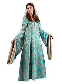 Michelle of Burgundy Dress Costume
