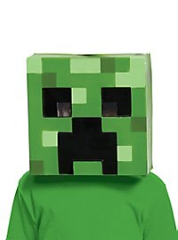 Minecraft Creeper Maske