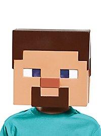 Minecraft Steve Maske