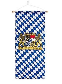 Mini bannière État libre de Bavière