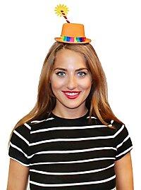 Mini chapeau de clown