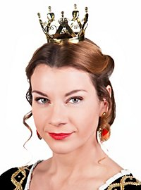 Mini Crown Queen of Hearts gold