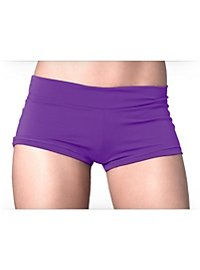 Mini short stretch violet