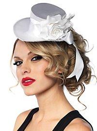 Mini Top Hat Roses white