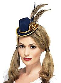 Mini traditional hat blue