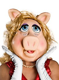 Miss Piggy Maske aus Latex