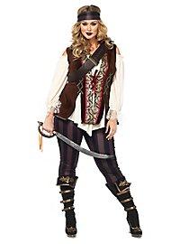 Miss Piratenkapitän XXL Kostüm